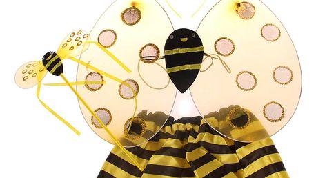 Dětský kostým andílka, motýlka, berušky nebo včelky