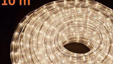 Nexos 1055 Světelný kabel 10 m - teple bílé, 360 minižárovek
