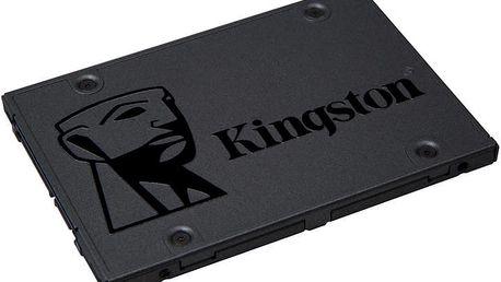 Kingston Now A400 - 120GB - SA400S37/120G + Podložka pod myš CZC G-Vision Dark - v ceně 200 Kč