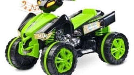 Elektrická čtyřkolka Toyz Raptor green