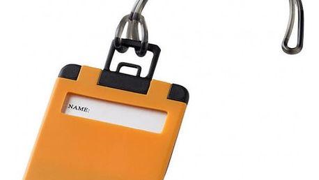 Výklopný štítek na zavazadla Taggy