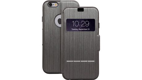 Moshi SenseCover pouzdro pro iPhone 6 Plus, černá - 99MO072304