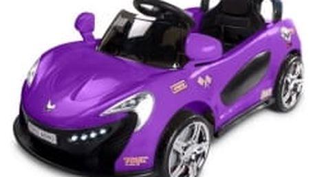 Toyz Elektrické autíčko Aero 2 motory a 2 rychlosti fialové
