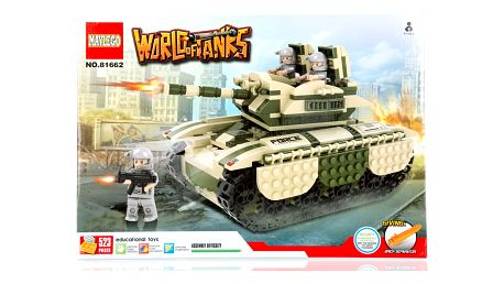 Stavebnice WORLD OF TANKS T-62 - 523 ks