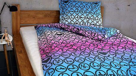 Gipetex Natural Dream Italské povlečení 100% bavlna LUX Kamasutra