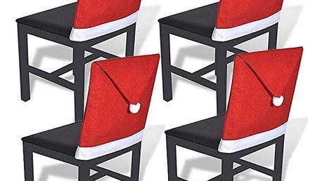 Vánoční potahy na židli 4ks