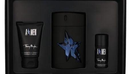 Thierry Mugler A*Men Rubber dárková kazeta pro muže toaletní voda 100 ml rubber + sprchový šampon 50 ml + deostick 20 ml