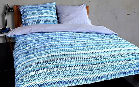Gipetex Natural Dream Flanelové povlečení BAIA modrá