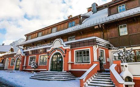 Rakouské Alpy: oblíbené středisko Tauplitz