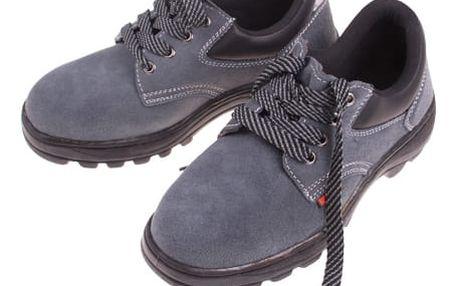 Nízká kožená pracovní obuv Riglander s vyztuženou špičkou