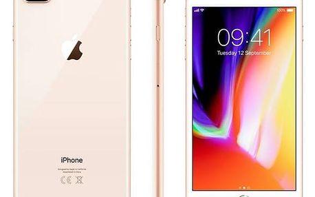 Mobilní telefon Apple iPhone 8 Plus 64 GB - Gold (MQ8N2CN/A) Software F-Secure SAFE 6 měsíců pro 3 zařízení (zdarma) + Doprava zdarma