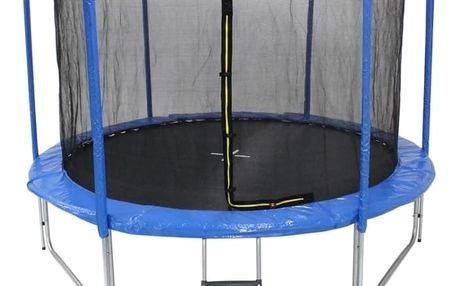 Marimex Trampolína Marimex Plus 305 cm + vnitřní ochranná síť + schůdky ZDARMA - 19000065