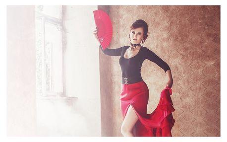 3 či 10 lekcí orientálního flamenca pro začátečnice