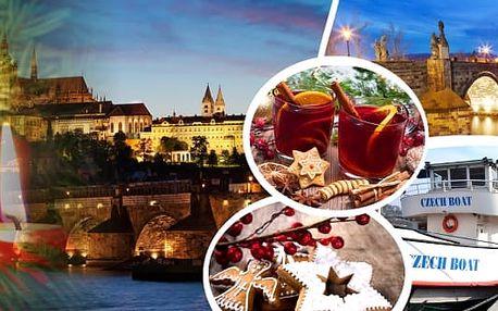 Adventní plavba vánočně vyzdobenou lodí po Vltavě. Nebude chybět vánoční cukroví, svařák nebo horká čokoláda a koledy. Užijte si Vánoční náladu na lodi, termíny vybírejte v listopadu a prosinci.