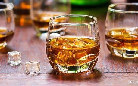 Degustace šesti špičkových rumů