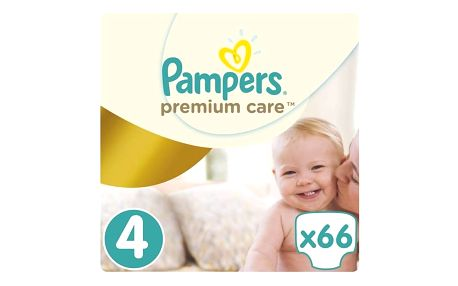 Pampers Plenky PremiumCare 4 Maxi - 66 ks