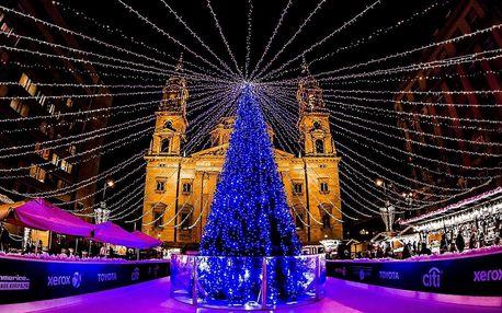 Výlet do Budapešti na 2 dny s termály a adventními trhy