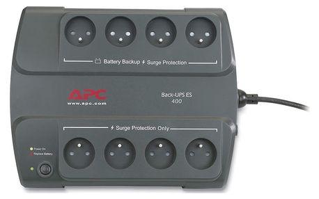 APC Back-UPS ES 400VA, bez SW - BE400-CP