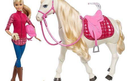 MATTEL BARBIE Interaktivní kůň + Panenka