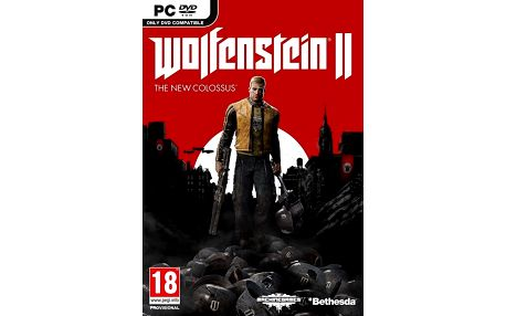 Wolfenstein II: The New Colossus (PC) - PC + Podtácky Wolfenstein II: The New Colossus