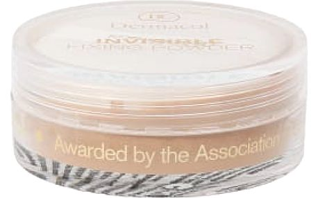 Dermacol Invisible Fixing Powder 13 g pudr pro ženy Natural