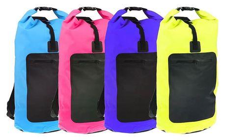 Stylový voděodolný batoh: různé barvy