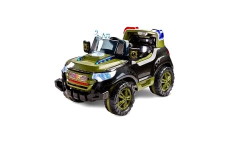 Elektrické autíčko Toyz Patrol - 2 motory green
