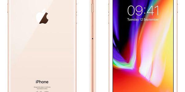 Mobilní telefon Apple iPhone 8 Plus 64 GB - Gold (MQ8N2CN/A) + DOPRAVA ZDARMA3
