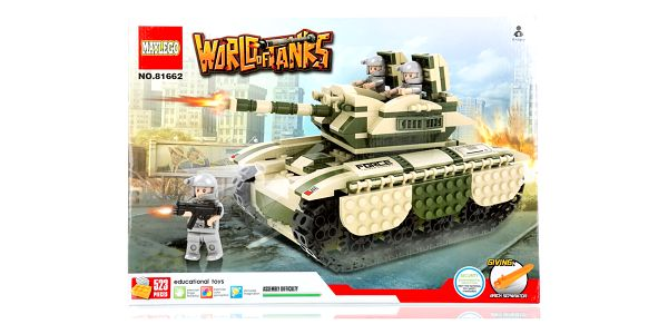 Stavebnice WORLD OF TANKS T-62 - 523 ks