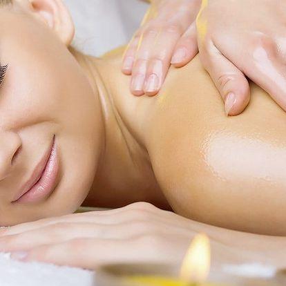2 hodiny relaxace - celotělová olejová masáž