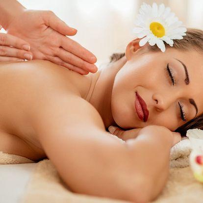 60minutová masáž proti podzimní depresi