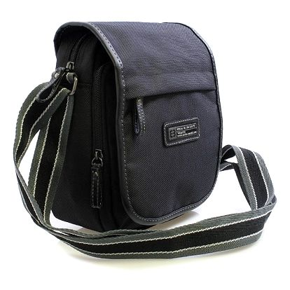 Černá taška na doklady Enrico Benetti 4467 černá