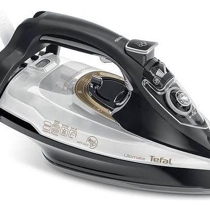 Žehlička Tefal Ultimate FV9747E0 černá/bílá + Doprava zdarma
