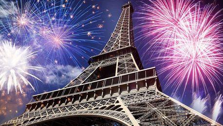 Silvestr v Paříži s ubytováním v hotelu + sekt zdarma