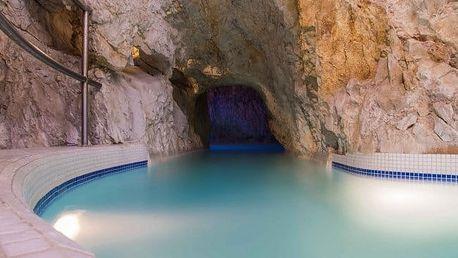 Miskolctapolca: Jeskynní lázně s polopenzí