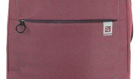 """TUCANO LOOP batoh pro notebooky do 15,6"""", vnitřní polstrování, vínová - BKLOOP15-BX"""