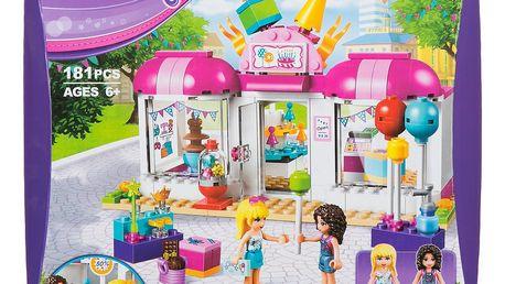 BELA Stavebnice Friends Párty obchod - 181 ks