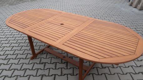 Eukalyptový stůl BURGIS - Texim zahradní nábytek