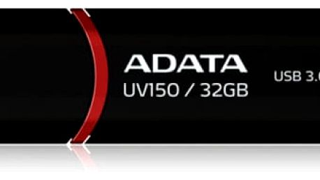 USB Flash ADATA UV150 32GB (AUV150-32G-RBK) černý USB 3.0