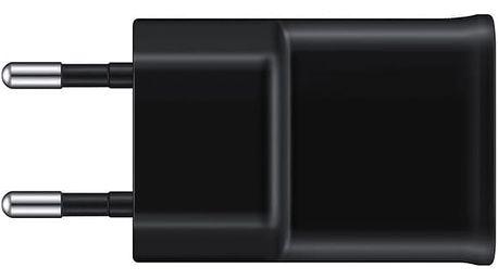 Nabíječka do sítě Samsung EP-TA12EBE, 1x USB, 2A + MicroUSB kabel (EP-TA12EBEUGWW) černá