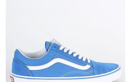 Boty Vans Ua Old Skool (Suede/Canvas) Modrá
