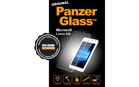 PanzerGlass ochranné sklo na displej pro Microsoft Lumia 650 - 1277