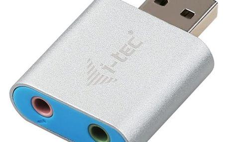 i-Tec USB 2.0 adapter na Audio, mini, metal - U2AMETAL
