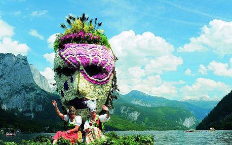 Festival narcisů v Solnohradsku se zastávkou v Hallstattu