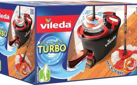 VILEDA Mop Easy Wring and Clean Turbo