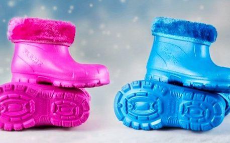 Dětské sněhule FLAMEshoes ze Slovenska