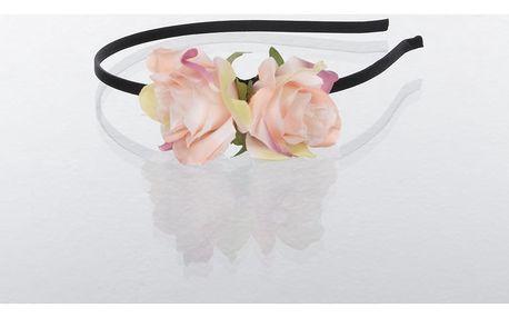 Fashion Icon Čelenka do vlasů Hand made - růže