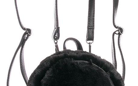 Fashion Icon Dámský batoh s kožešinou