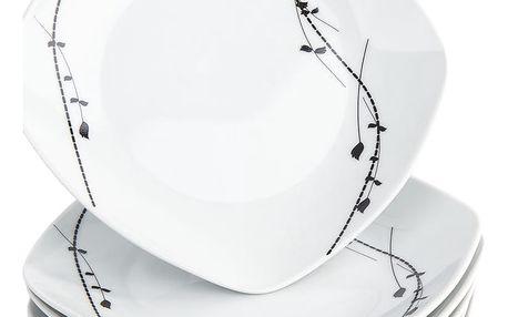 Domestic 6dílná sada dezertních talířů Londra, 19 cm