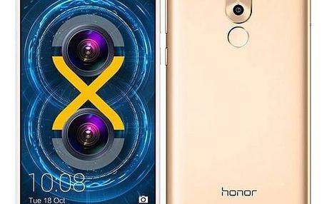 Mobilní telefon Honor 6x (51091GNC) zlatý Software F-Secure SAFE 6 měsíců pro 3 zařízení (zdarma) + Doprava zdarma